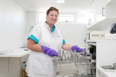 orthodontist Emmen - sterilisatieruimte Toportho Emmen