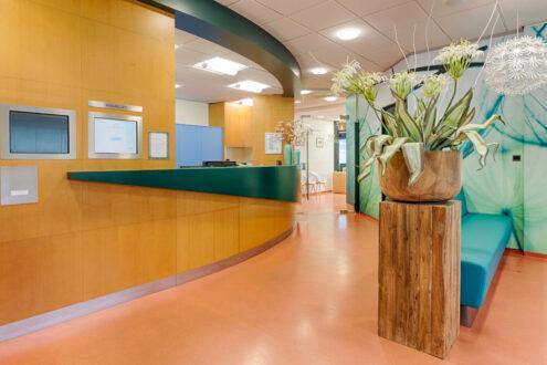 orthodontist Bergen op Zoom - balie TopOrtho Bergen op Zoom