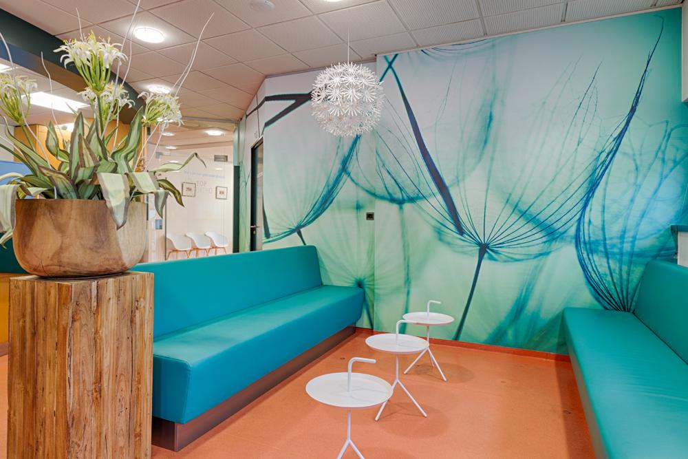orthodontist Bergen op Zoom - wachtruimte TopOrtho Bergen op Zoom