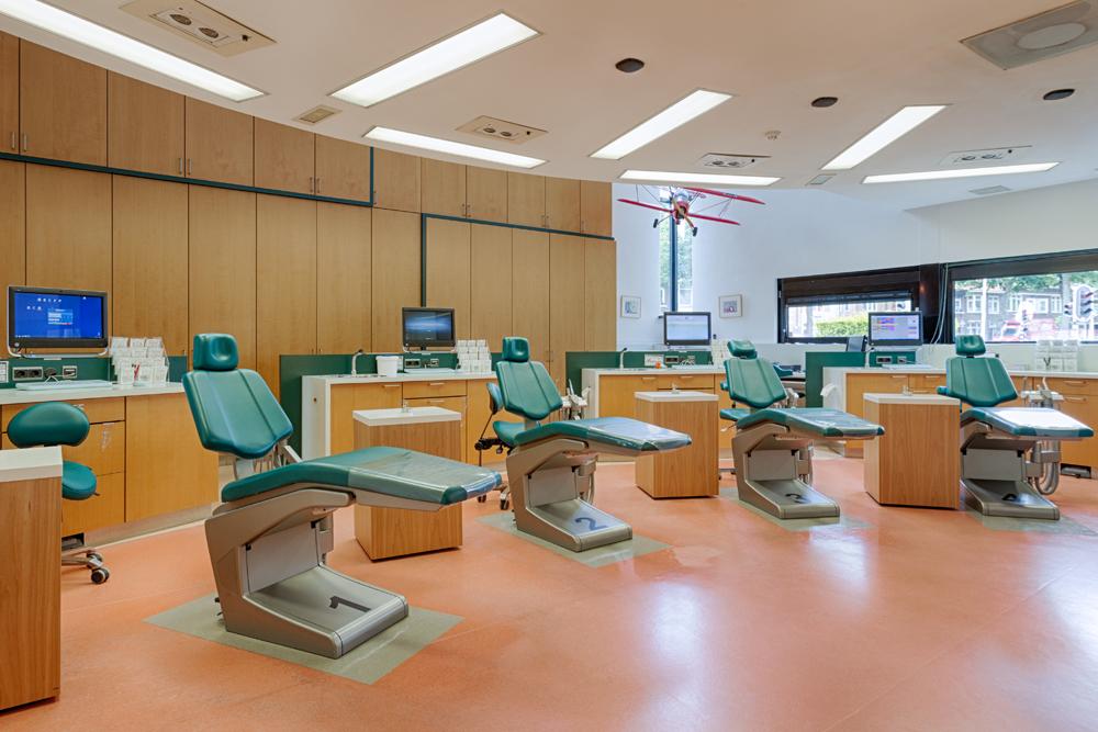 orthodontist Bergen op Zoom - behandelkamer TopOrtho Bergen op Zoom