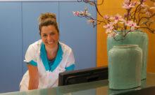 orthodontist Bergen op Zoom - receptie TopOrtho Bergen op Zoom