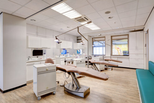 orthodontist Rotterdam - behandelkamer TopOrtho Rotterdam