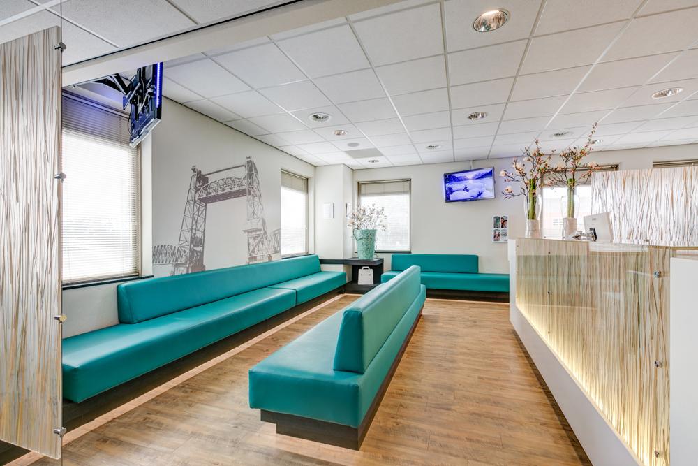 orthodontist Rotterdam - wachtkamer TopOrtho Rotterdam