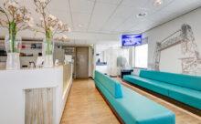 orthodontist Rotterdam - wachtruimte TopOrtho Rotterdam