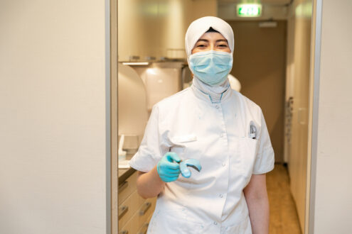 orthodontist Rotterdam - assistente TopOrtho Rotterdam